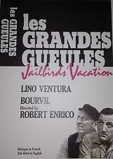 Classic French Movie Les Grandes Gueules Jailbirds' Vacation New DVD SEALED