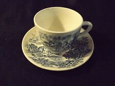 Wedgewood & Co. LTD. England Countryside Tea Cup and Saucer
