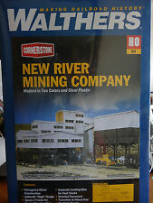 Walthers Cornerstone HO #933-3017 New River Mining Company (KIT) Plastic