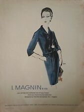 1932 I Magnin Co Manor Bourne Collection Fretchel Design Original Ad