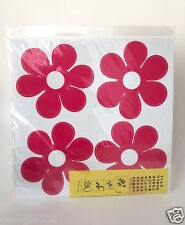 7 Blik Retro Flower Daisy Mod 60s 70s Decal Decor Sticker Vinyl Wall Art NIP