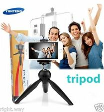 Mini Tripod Mobile Phone Holder Clip Desktop Selfie Camera Stand iPhone Samsung