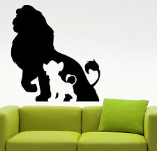 Lion King Wall Decal Vinyl Sticker Disney Cartoon Art Bedroom Nursery Decor 4yeh