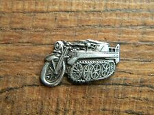 "NSU KETTENRAD VEST PIN ~1"" x 5/8"" MOTORCYCLE 1939 LAPEL HAT BADGE BROCHE WWII"