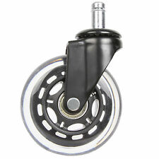 5 x Office Chair Replacement Caster Wheel Rollerblade Style (5 Wheels)