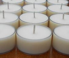 Citronella Tealight Candles - Natural Dye Free Soy Wax Tea Lights - T Lites
