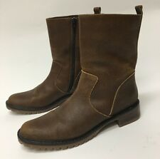 SANTANA CANADA Brown Leather Boots Zip Womens size 7
