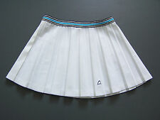 Head Tennis Sports Skirt Medium W30 in. White Pleated Short Mini Vintage ITAx441