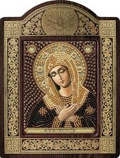 OUR LADY of Supplication  Religious Picture DIY Kit Icon Beaded Embroidery New.