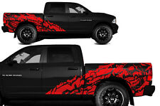Vinyl Decal NIGHTMARE Wrap Kit for Dodge Ram 09-14 1500/2500 SHORTBOX Dark Red