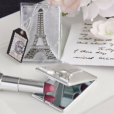 100 Eiffel Tower Mirror Compact Favors Paris Sweet Sixteen Wedding Event Lot