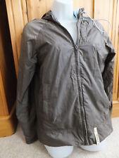 Quicksilver brun manteau court femme taille 12