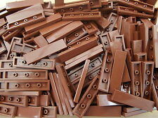 20 x Lego 1 x 4 Reddish Brown Tiles Part Number 2431 Add On Finishing Touches