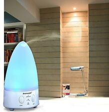 Ultrasonic Air Humidifier Purifier Ion Aroma Apa Therapy Essential Oil Diffuser