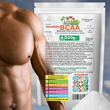 500g (1.1 lb) INSTANTIZED BCAA (BRANCHED CHAIN AMINO ACIDS) - Free Ship -IBCAA