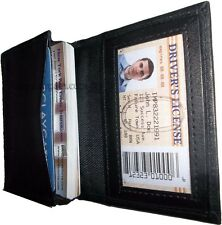 New Slim Business Credit Card ID card picture Holder 4 Card Case and ID  BNWT++*