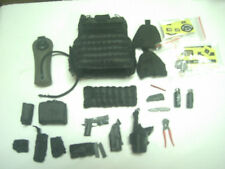 """1:6 scale DID Driver LAPD SWAT Vest+pistol+pouches+knife+tool  for 12"""" figure"""
