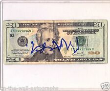 MACKLEMORE HAND SIGNED AUTOGRAPHED $20 BILL THRIFT SHOP! RARE! ONE OF A KIND!