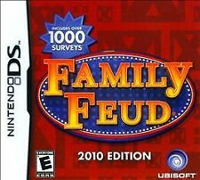 Family Feud 2010 Edition RE-SEALED Nintendo DS DSI XL LITE 3 3DS 2 2DS 2K10 10