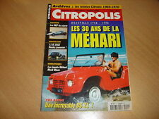 Citropolis N°11 Les MEP de course.Traction 11 B