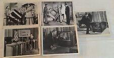 JOYEUX ANNIVERSAIRE 1959 - D. MILLER - D. NIVEN - LOT 5 PHOTOS CINEMA PRESSE