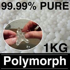 1000g Polymorph Mouldable Plastic Pellets, Plastimake, DIY Thermoplastic 1KG