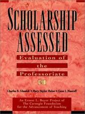 Scholarship Assessed: Evaluation of the Professoriate (Special Report (Carnegie