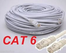 100FT High Quality Cat6 UTP RJ45 ETHERNET NETWORK CABLE WIRE RJ-45 RISER CAT-6