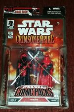 STAR WARS COMIC PACKS CRIMSON EMPIRE CARNOR JAX  KIR KANOS EXCLUSIVE 2 PACK RARE
