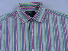 Polo Ralph Lauren Men's Philip Sport L/S Button Up Multi Color Striped Shirt - M