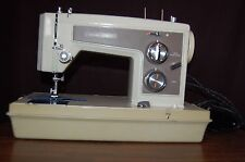 Vintage KENMORE Portable Sewing Machine 158.143 Heavy Duty Model 158 w/ CASE