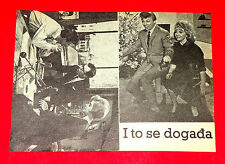 ALL HAPPENING 1963 TOMMY STEELE ANGELA DOUGLAS DON SHARP RARE EXYU MOVIE PROGRAM