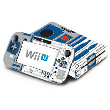 Skin Decal Cover for Nintendo Wii U Console & GamePad - Star Wars R2-D2 R2D2
