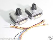 2 x Nema 16 Stepper Motors GT2 Pulley Robot 3D Printer Linear Motion CNC Slider
