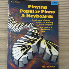 piano PLAYING POPULAR PIANO & KEYBOARDS, second edition, Neil Thomas