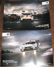 original BMW 4er/M4 DTM Motorsport Nothing Else Matter Doppel-Poster 59cm x 42cm
