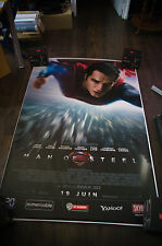 MAN OF STEEL Style A Huge Giant 4x6 ft D/S French Movie Poster Original 2013