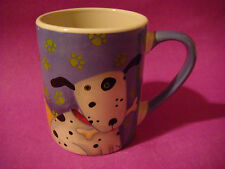 Coffee Cup Tea Mug ~**~ GIBSON 2006 Debi Heon ~**~ Dog Puppy Bone Puppies Design