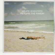 (EO898) We Are Scientists, Return The Favour - 2013 DJ CD