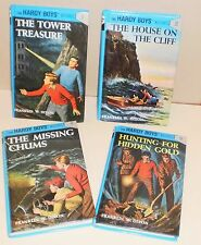 The Hardy Boys #1 #2 #3 #4 , Franklin W. Dixon, 1987 - Tower Treasure, etc.