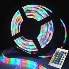 12V 5M Digital (Control ICs) RGB Strip Light Kit with Adapter 5050 LEDs x 30/M