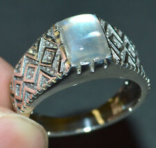 Moonstone 925 Sterling Silver Ring Jewelry s.9 JJ3617