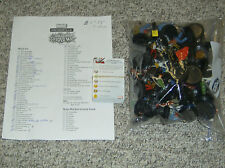 LOT of 65 Amazing Spider-Man Marvel Heroclix Figures - 5 Rares (WITH CARDS!)