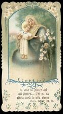 santino cromo-holy card-PAL-MADRE DEL BELL'AMORE