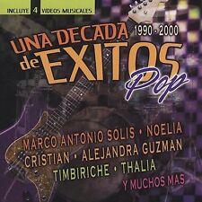 CD 'Una Decada 1990-2000 de Exitos: Pop' Marco Solis ++ CD+DVD 2005 SEALED