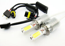 2x H7 COB LED Low Beam Headlight Bulb For Mercedes C240 E320 ML350 SLK350 CLK500