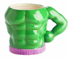 GULP in BULK Massive MUG - GREEN Muscles MAN Extra Large CERAMIC Mug 600ml
