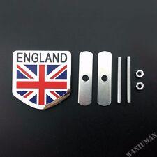 England UK Flag Car Front Grille Grill Emblem Badge Sticker Fit For Audi Ford