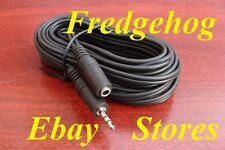 5 METRE HEADPHONE EXTENTION LEAD - 3.5mm Plug to 3.5mm Socket - IDEAL FOR TVs