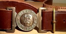 Elisabeth II (1952-now) British Army Leather Service Belt & Brass Buckle